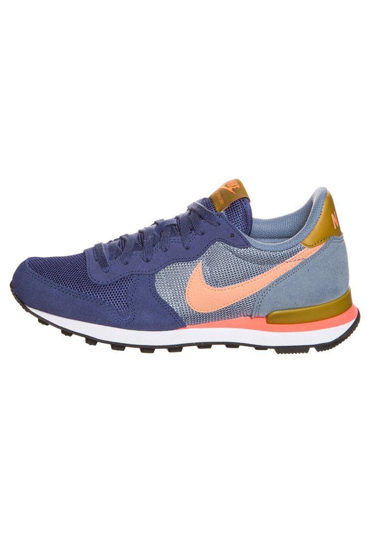more photos 7e8a6 1e892 Nike Sportswear - INTERNATIONALIST - Sneaker - dark blue grey pink