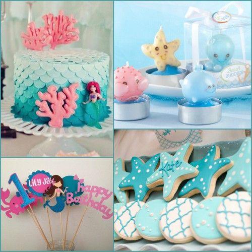 Mermaid Birthday Ideas From HotRef.com #mermaid