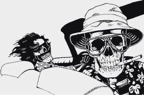 7724a1749 Insomnia - Fear And Loathing in las vegas | Tattoo | Calaveras, Arte ...