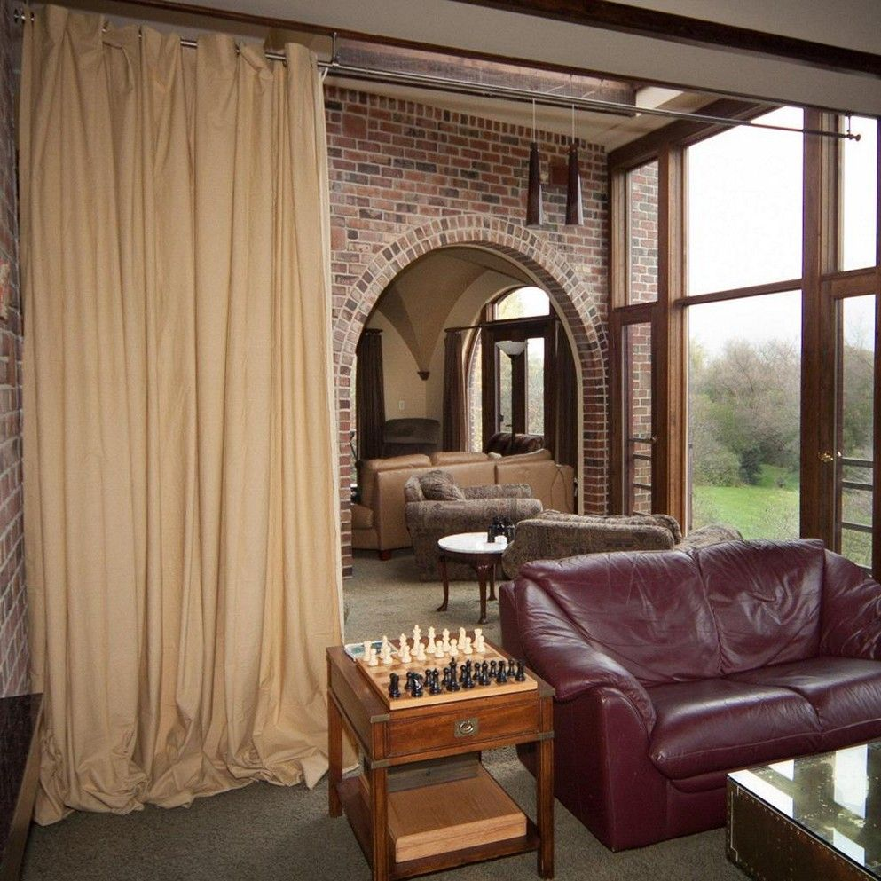 Diy room divider curtain ideas spatialdesign pinterest more