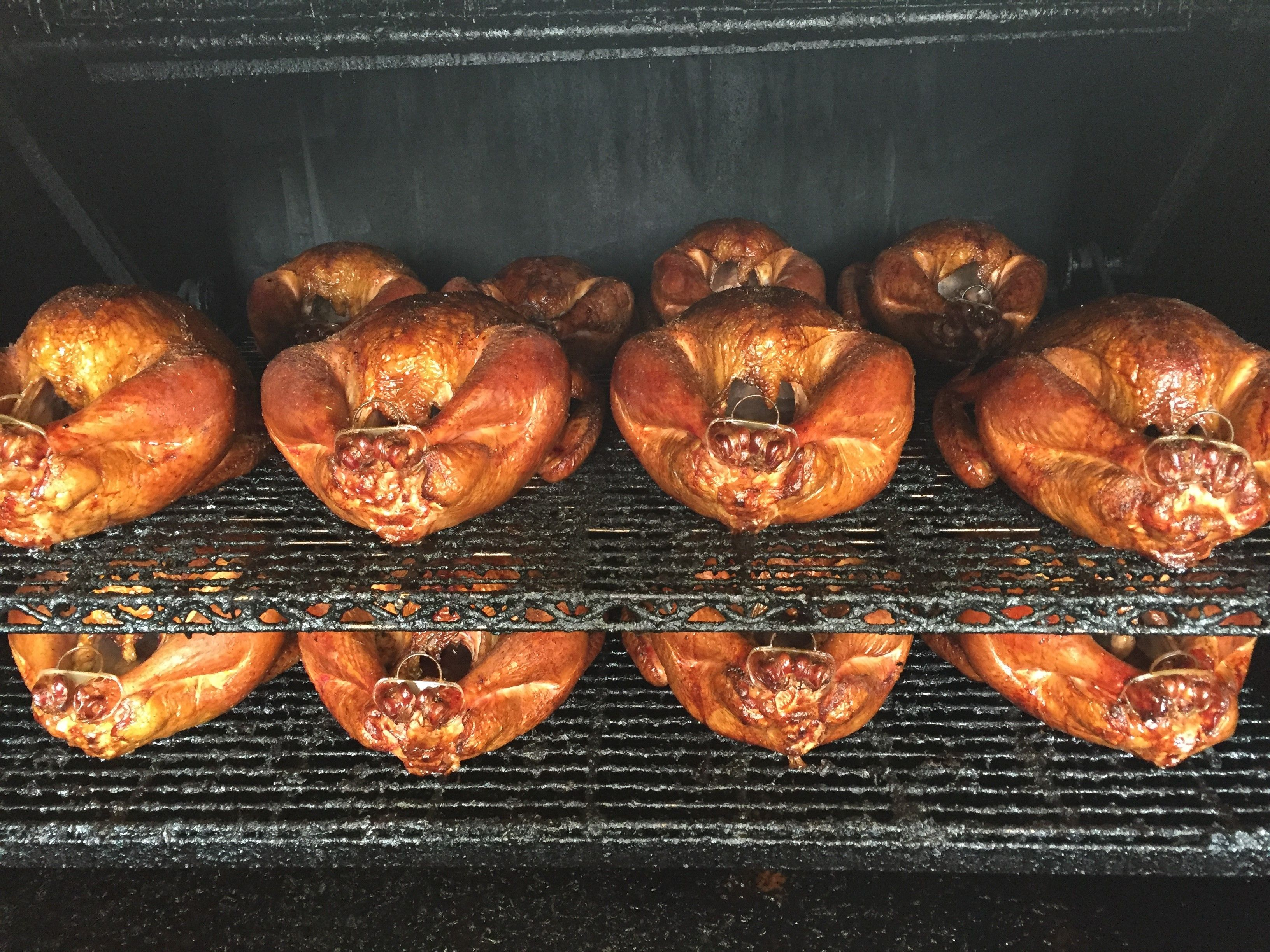 Precooked, whole, smoked turkey for Thanksgiving Dinner