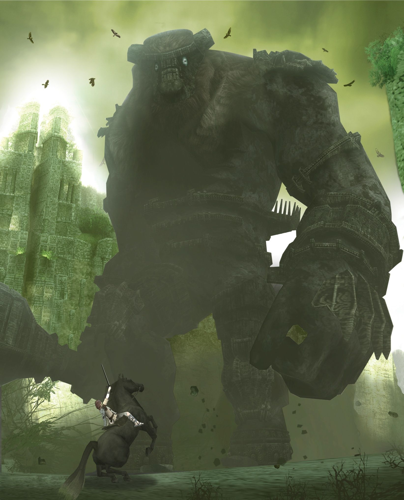 Latest 1644 2034 Shadow Of The Colossus Colossus Game Poster