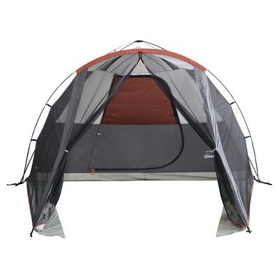 Embark 6 Person Instant Tent with Screen - Gray / White / Orange Light Grey  sc 1 st  Pinterest & Embark 6 Person Instant Tent with Screen - Gray / White / Orange ...