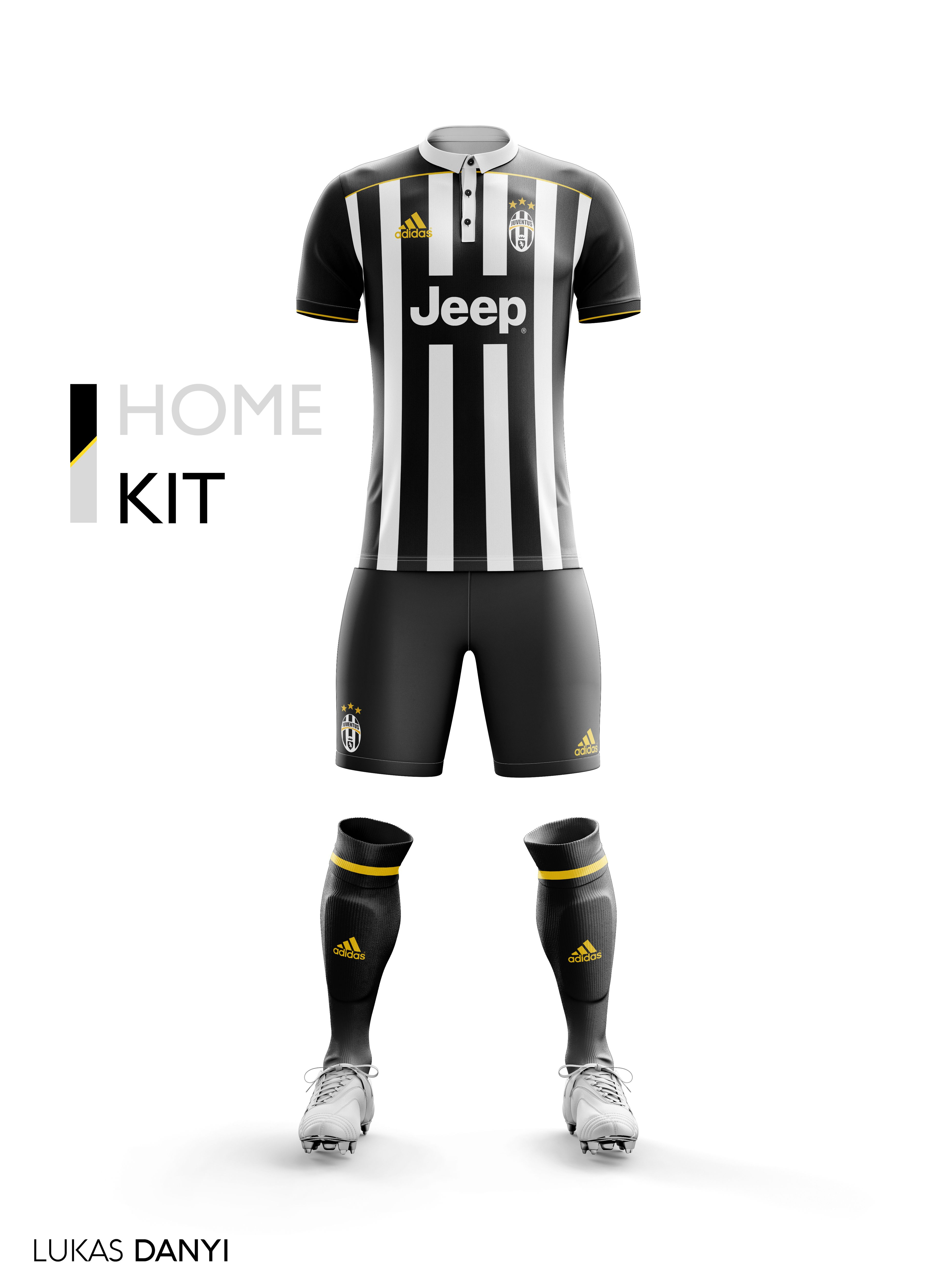 3a06cdb0e I designed football kits for Juventus FC for the upcoming season 17 ...
