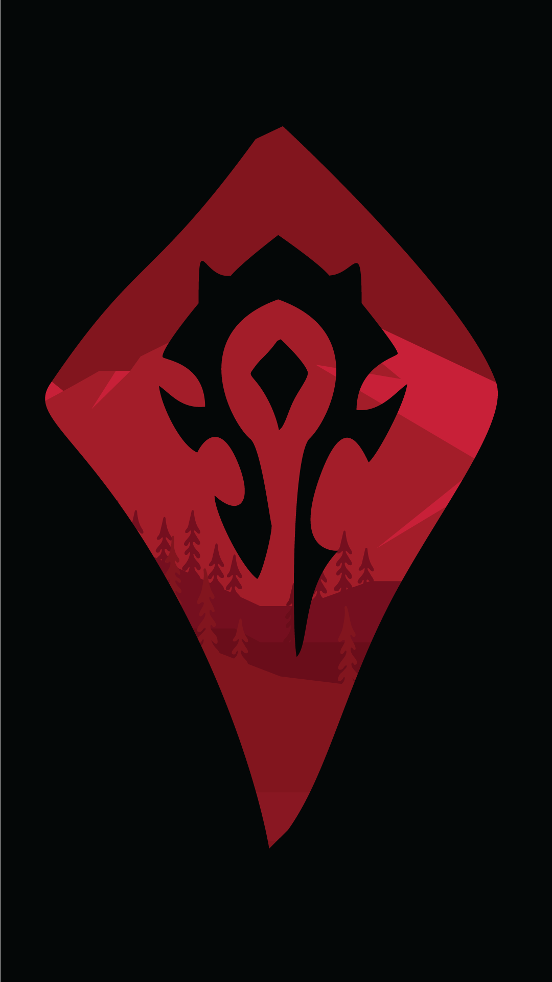 For the Horde World of Warcraft 1080x1920 Trying adobe