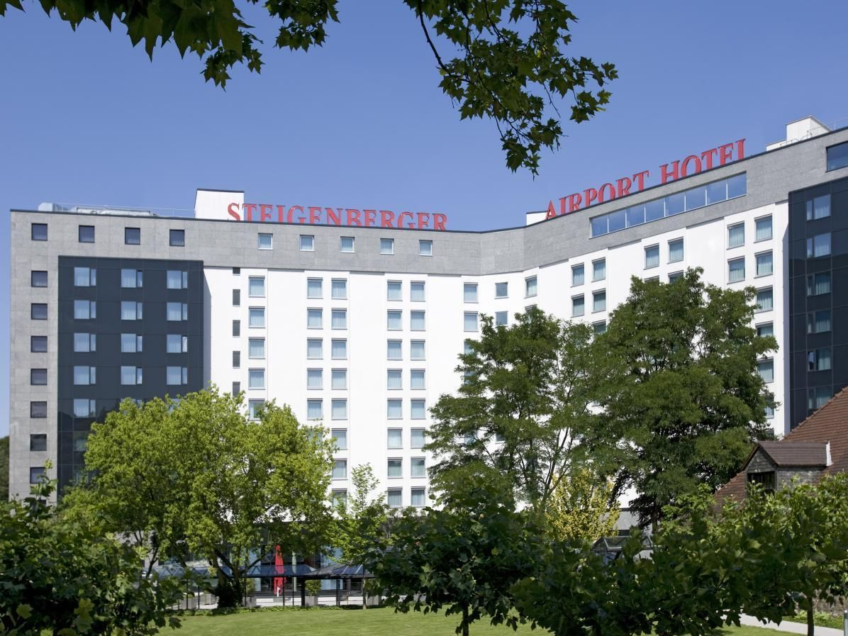 Frankfurt Am Main Steigenberger Airport Hotel Germany Europe Located In Frankfurt Airport Area Steigenberger Airport Hotel Hotel Europe Hotels Airport Hotel