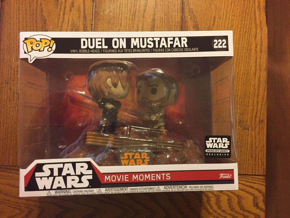 Revenge Of The Sith Duel On Mustafar Smuggler S Bounty Exclusive Funko Pop Ebay Link Funko Pop Star Wars Funko Funko Pop