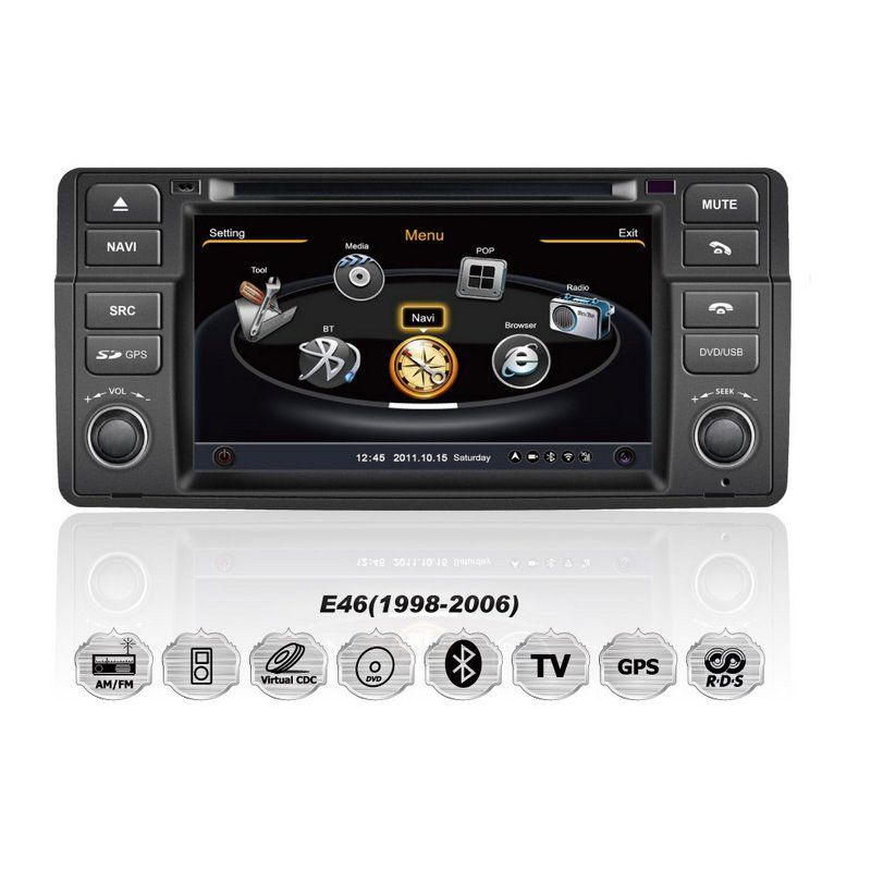 bmw e46 m3 3er s100 autoradio dvd gps navigationssystem. Black Bedroom Furniture Sets. Home Design Ideas
