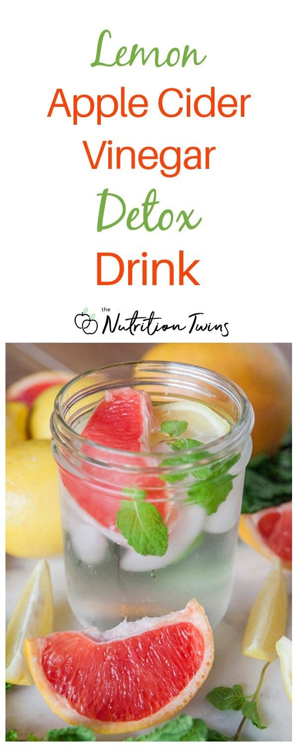 "Apple Cider Vinegar Lemon ""Detox"" Drink Recipe"