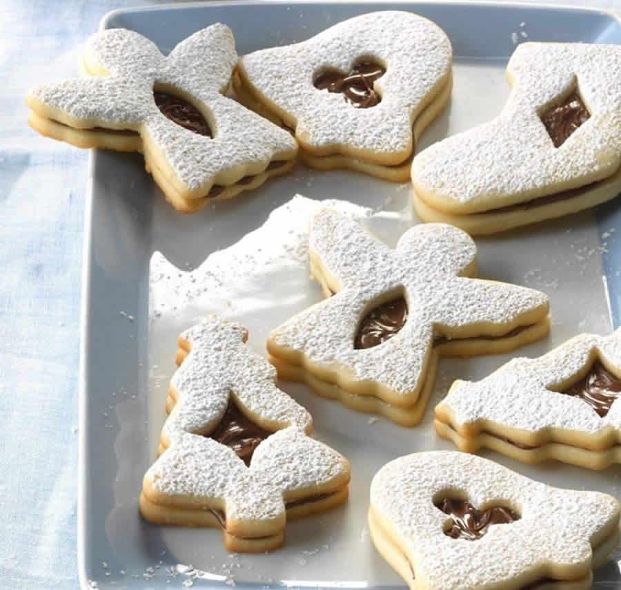 biscuits de noel fourres au nutella au thermomix