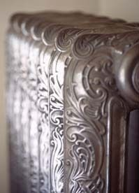 radiator | More vintage lusciousness here: http://mylusciouslife.com/photo-galleries/vintage-style-lovely-nods-to-the-past/
