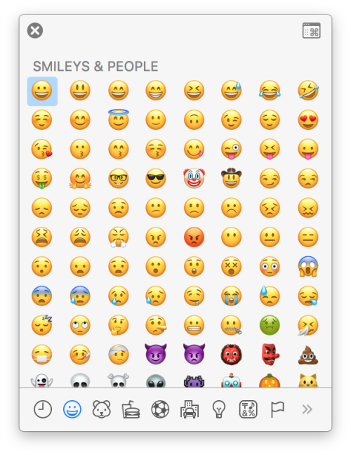 Macos 10 12 Sierra Follow These Simple Instructions For How To Insert Emoji On A Mac Running The Latest Version Of Macos Sier Emoji Keyboard Emoji Tutorial