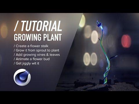 Cinema 4D - Creating an Infinitely Blooming Alien Flower