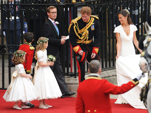 Prince Harry Pippa Middleton At William And Kate S Wedding April