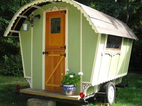 Building A Gypsy Wagon Now Tiny House Rv Vardo