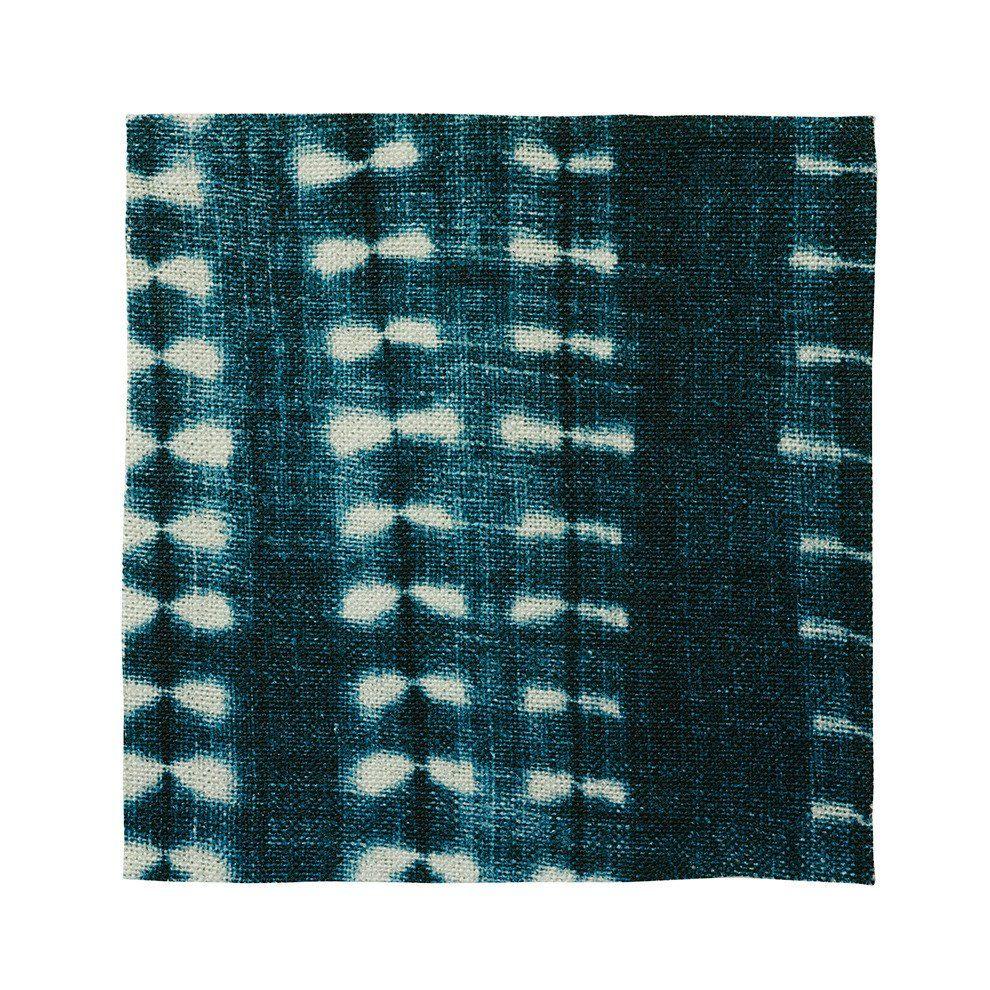 Indigo Vines Fabric By the Yard