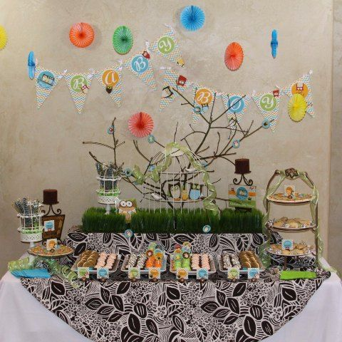 Baby Shower Decorations Ideas u203a Owl Themed Baby Shower Decorations With Bird Cage And Cake u203a Cute Party With Owl Themed Baby Shower Decorations & baby shower themes | Ideas para baby showers | Party planning ...