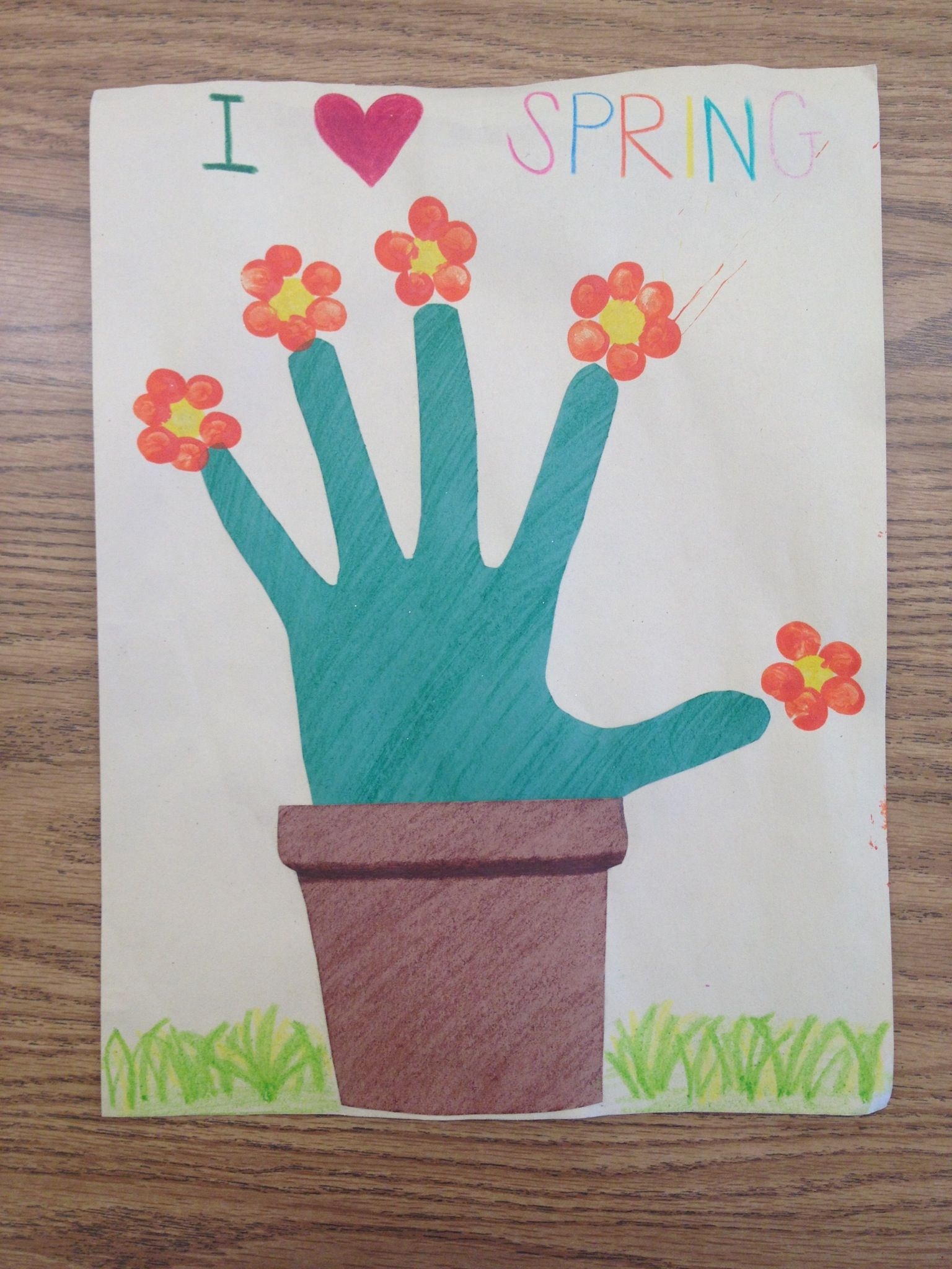 Spring Craft Projects For First Graders