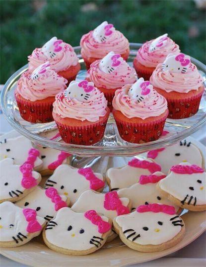 Maries Manor Hello Kitty: Hello Kitty :) Cake Decorating