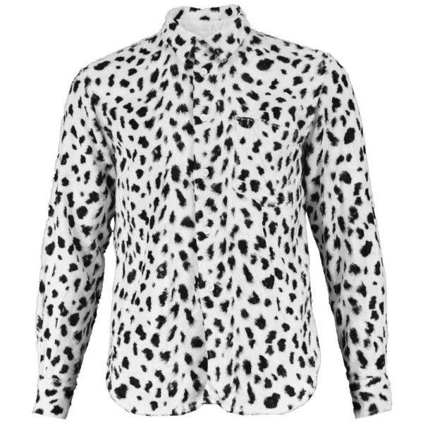 Preowned Comme Des Garcons Homme Plus Faux Fur Cheetah Print Black And... ( 5e19507a4