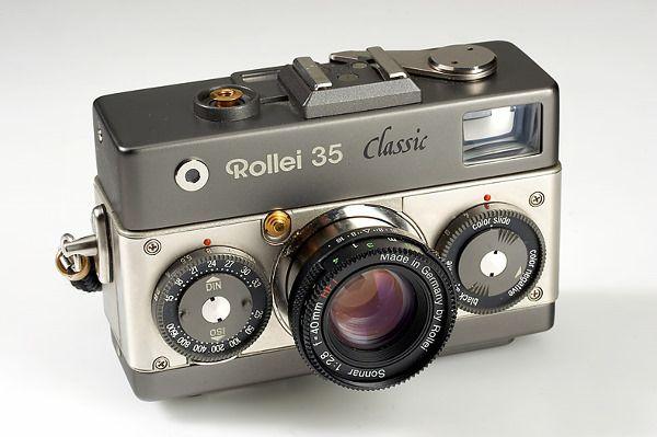 Rollei 35 Classic Titanium