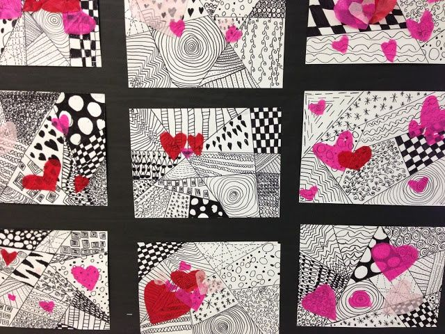 Valentine watercolor painting art project for kids and adults! Description from ...