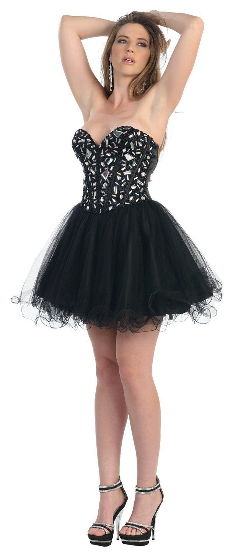 black white and midnight blue bridesmaids corset dress | tutu prom ...