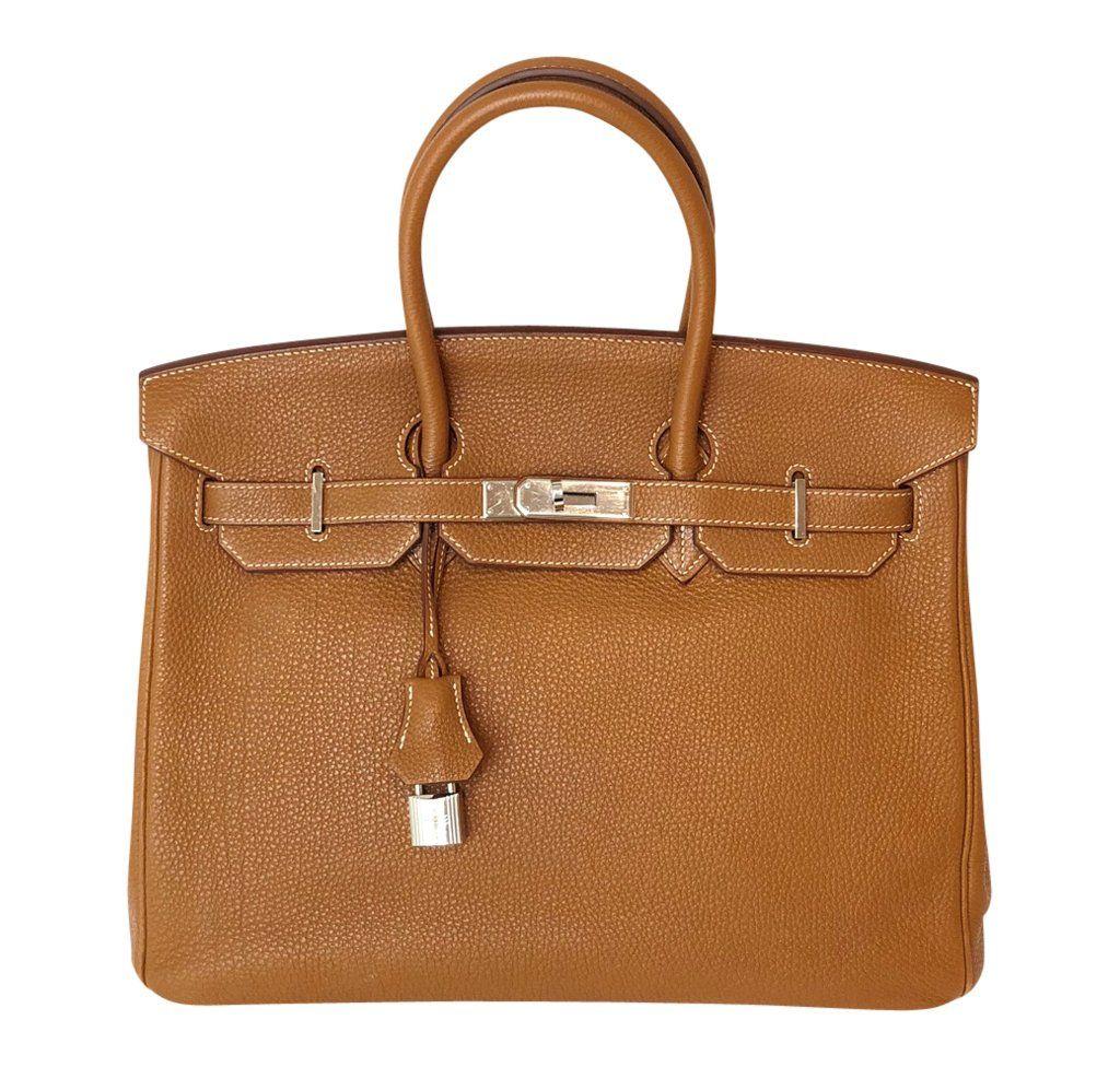 89adf02a226 Hermès Birkin 35cm Bag Gold Togo Palladium Hardware