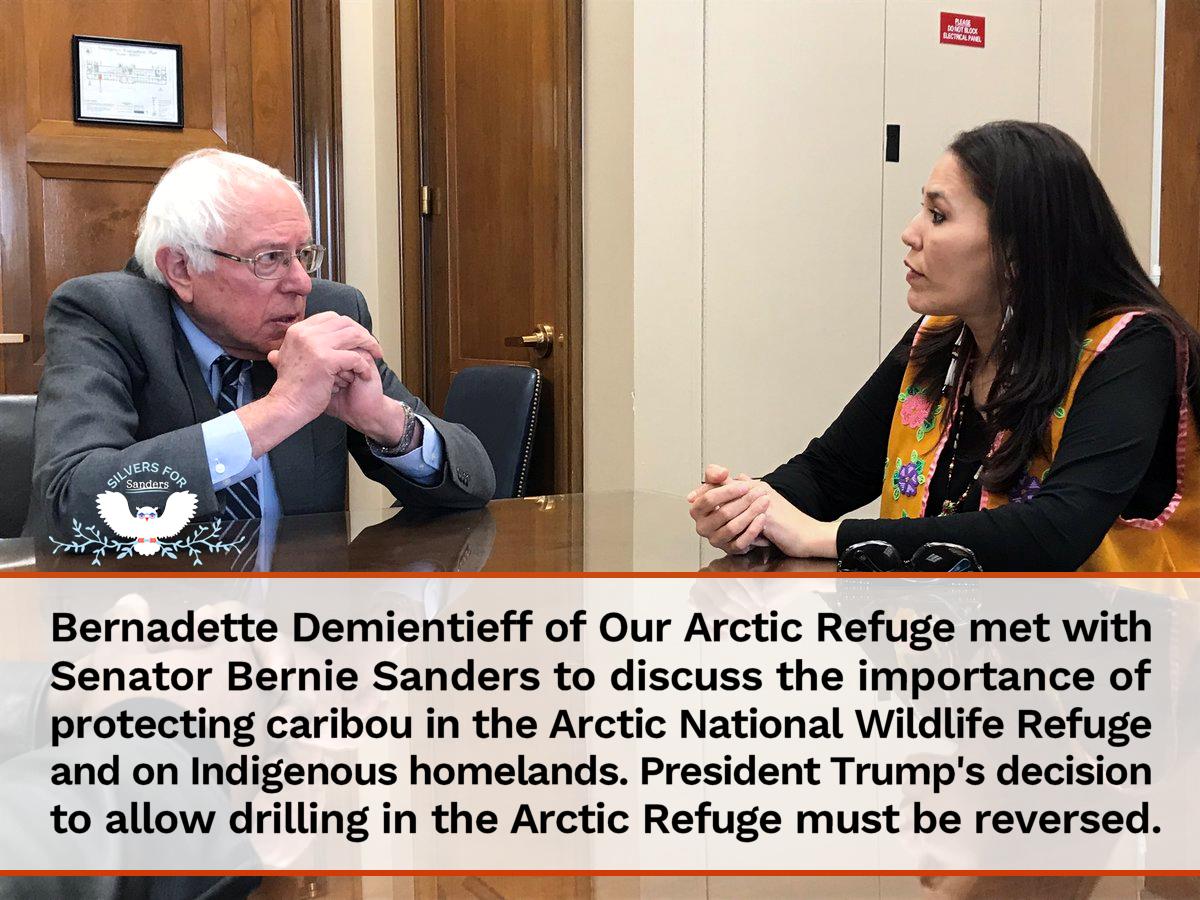 Bernie Sanders Arctic Refuge Bernie Sanders Sen Bernie Sanders Sanders