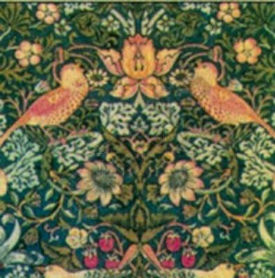 Minimum World William Morris Wallpaper