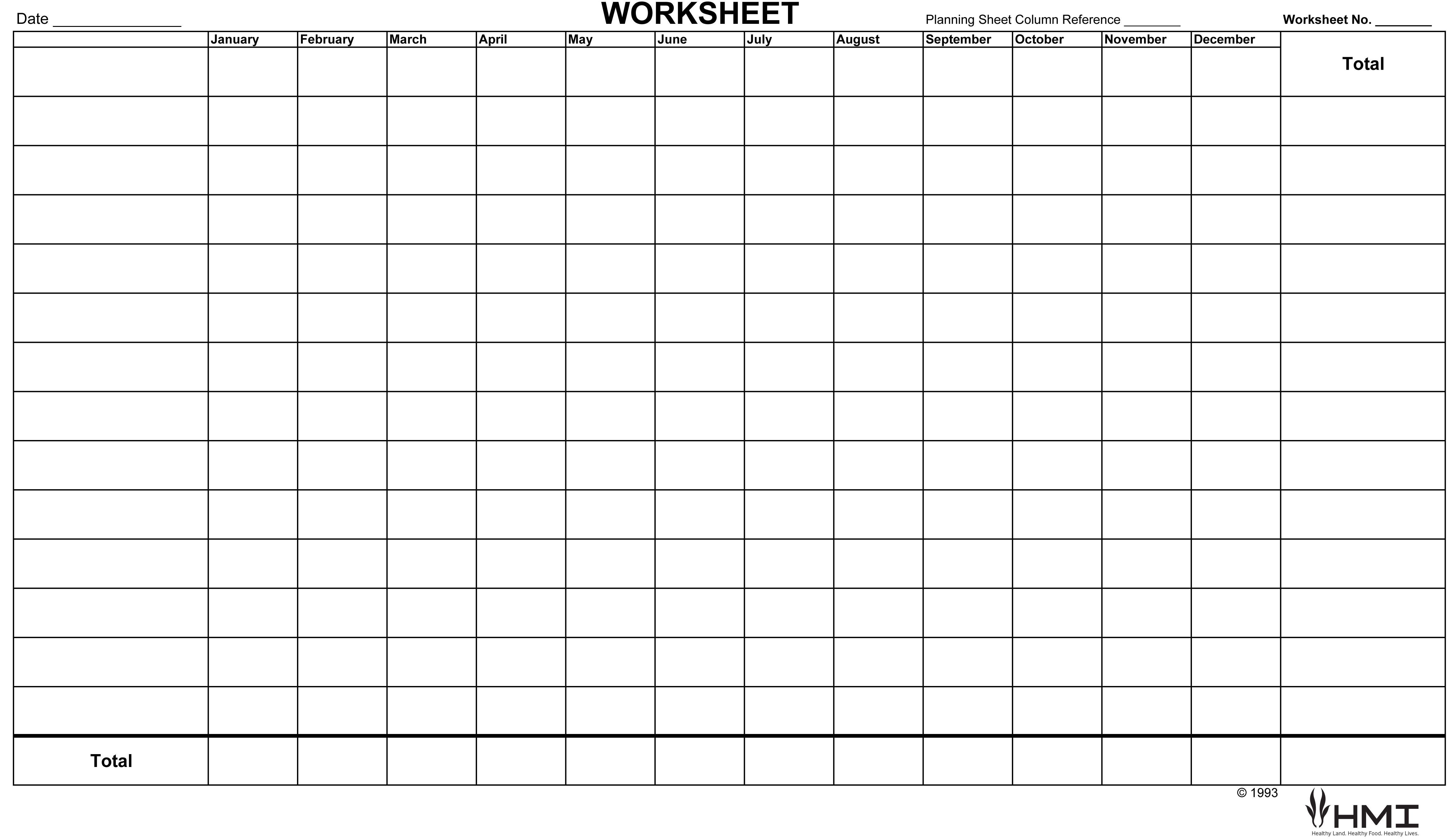 Financialysis Worksheet