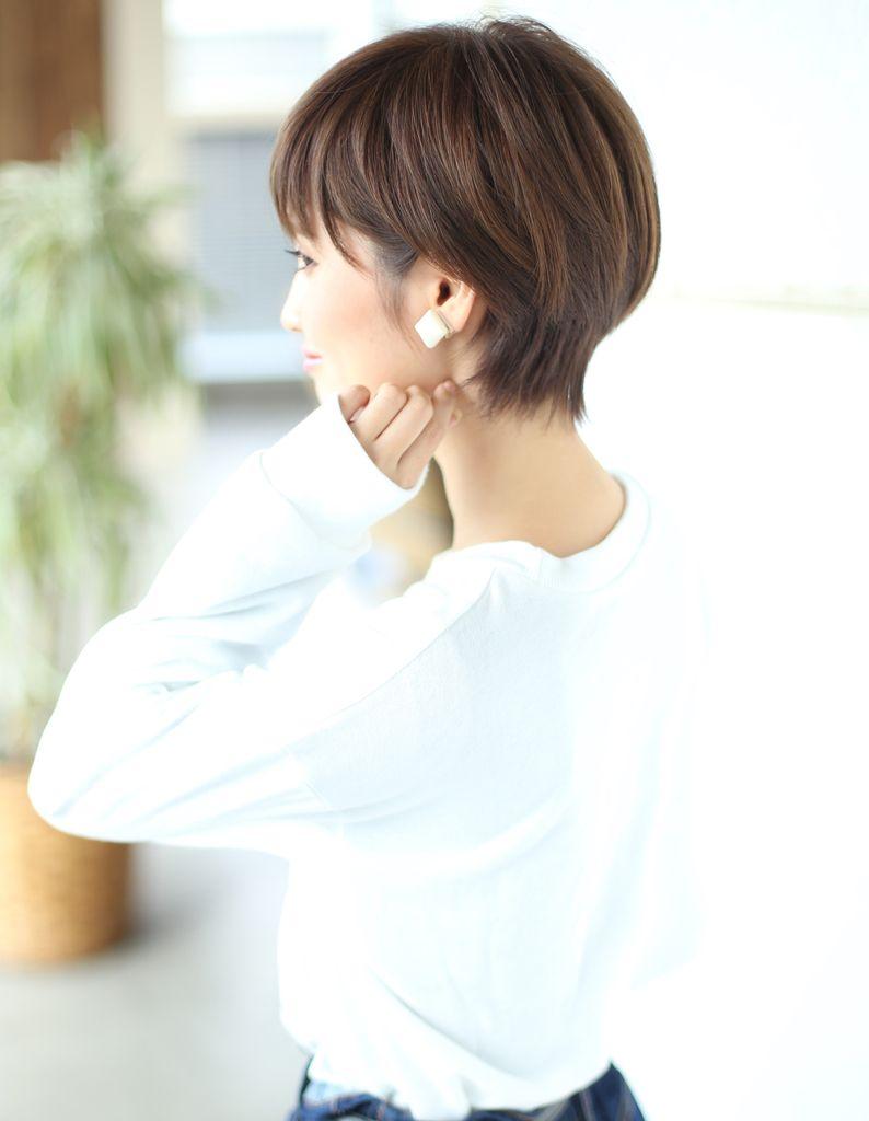 Boy cut hairstyle for girl wayショートスタイル nb  ヘアカタログ髪型ヘアスタイル