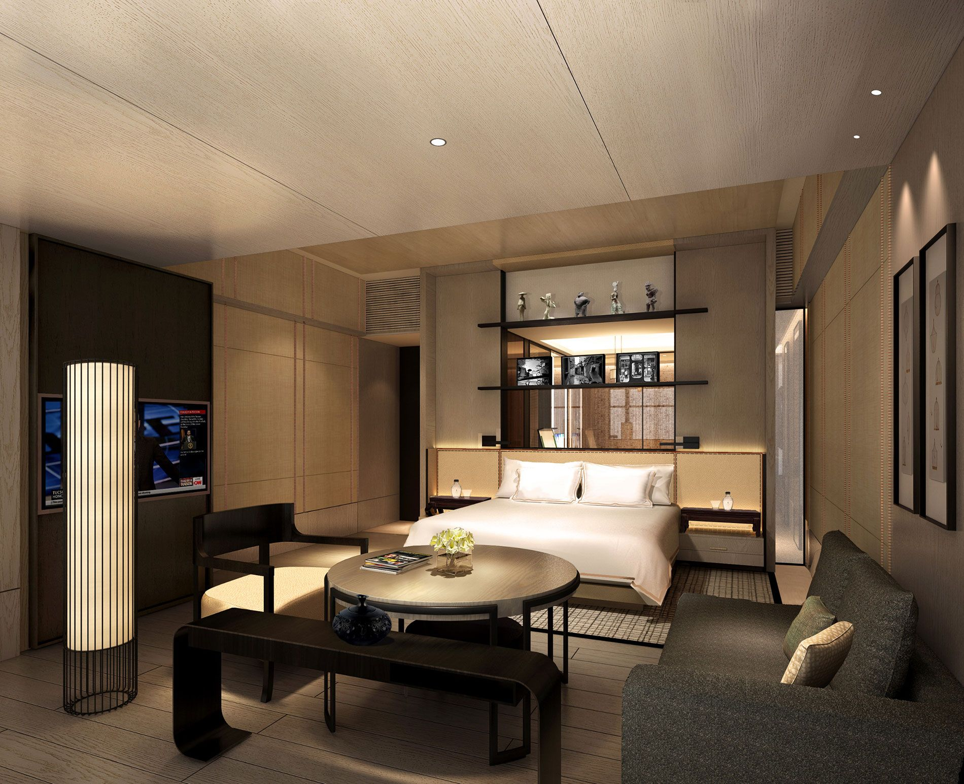 Rosewood Chongqing China To Open 2015 Hotel Room Interior Hotel Room Design Rosewood Hotel