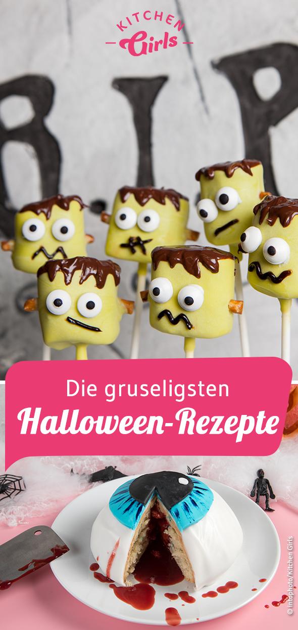 Die gruseligsten Halloween-Rezepte #healthymarshmallows