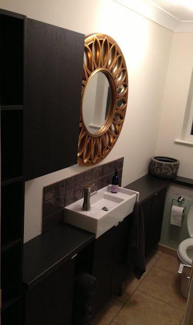 Narrow Bathroom Units Ikea Hackers Narrow Bathroom Bathroom