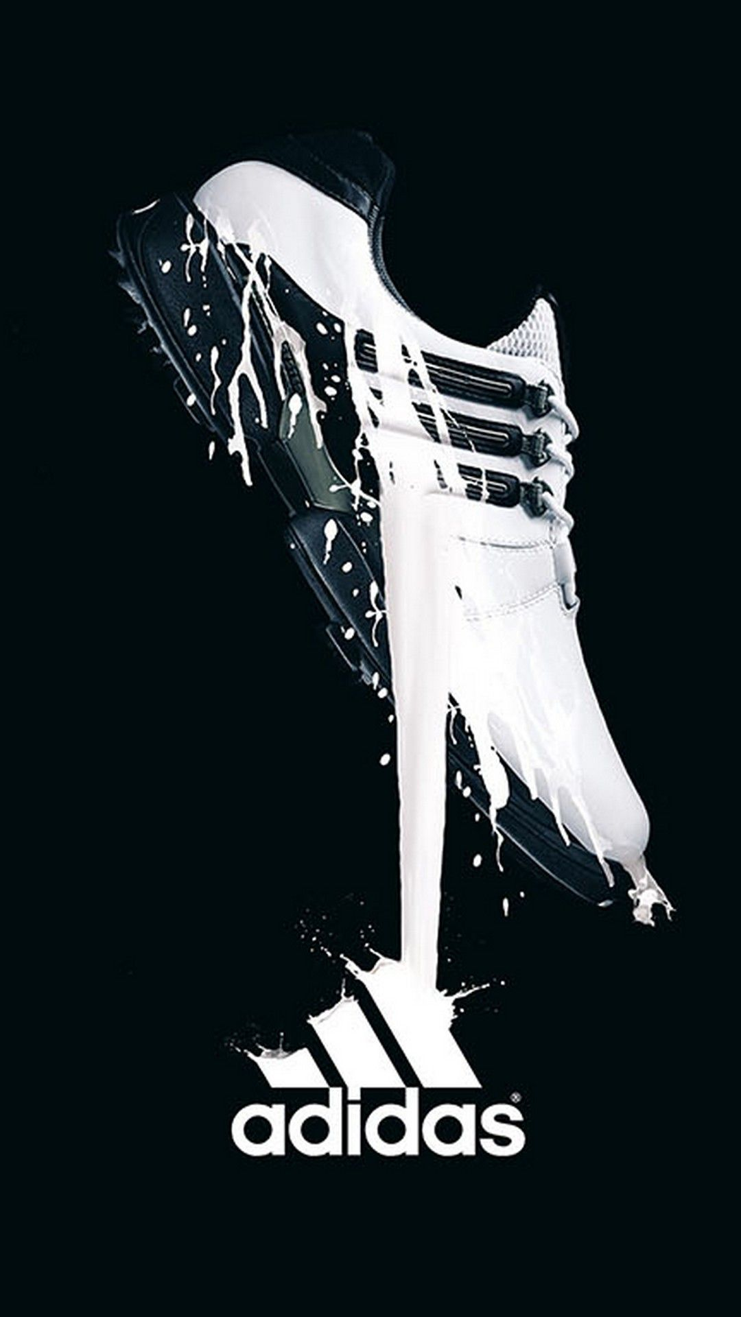 Adidas Logo Phone 8 Wallpaper Best Phone Wallpaper Hd In 2020 Adidas Advertising Adidas Logo Wallpapers Shoe Advertising