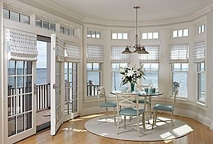 Great Traditional Dining Roomnot Furniture Just Windows