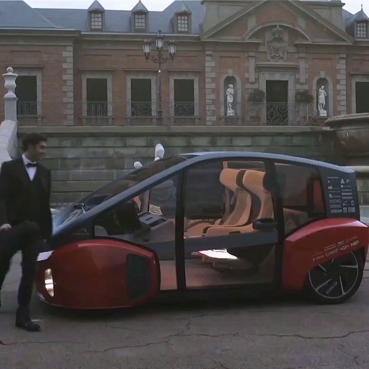 Innovador coche eléctrico y autónomo