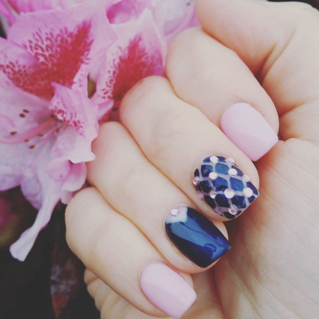 Love my new nails #nailsgel #nails #beautiful #love #amazing #style ...