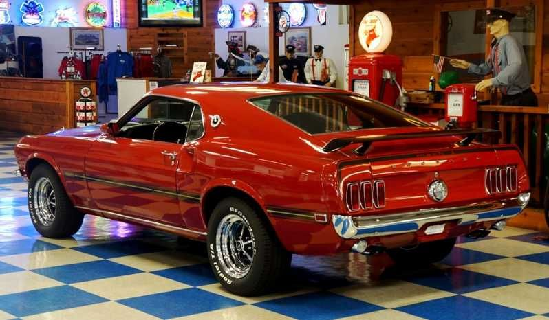 1969 Ford Mustang Mach 1 Red Black Full Muscle Cars Mustang