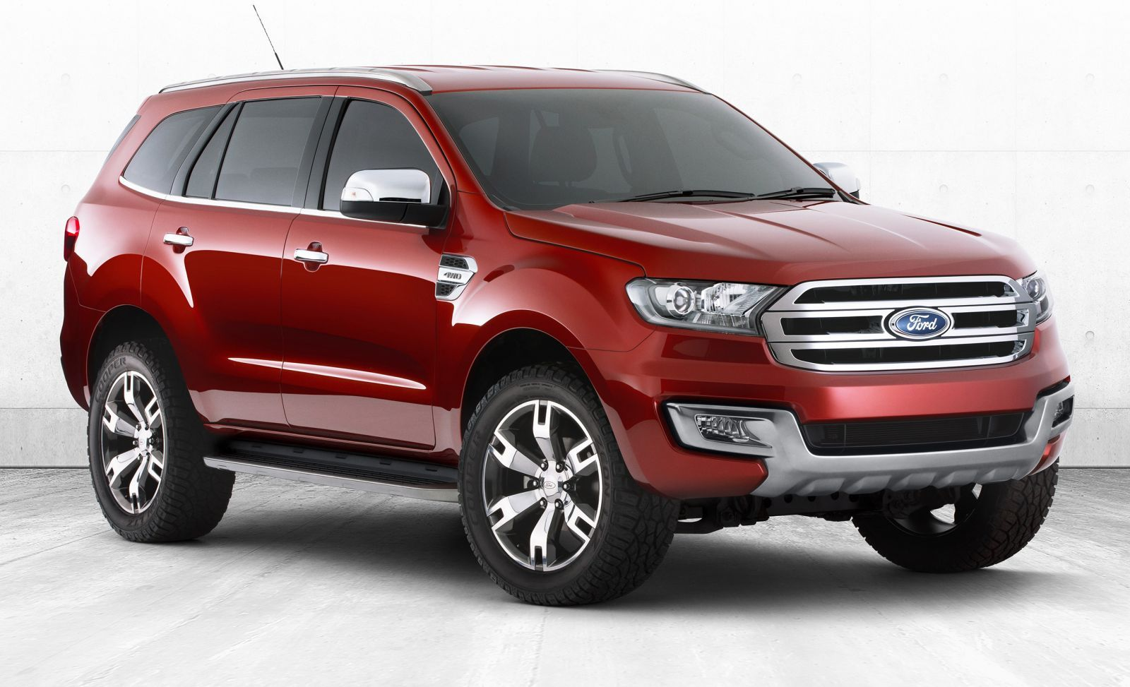 Ford australia has revealed everest concept or endeavour facelift endeavour facelift everest will be launched in ford everest concept will be sport