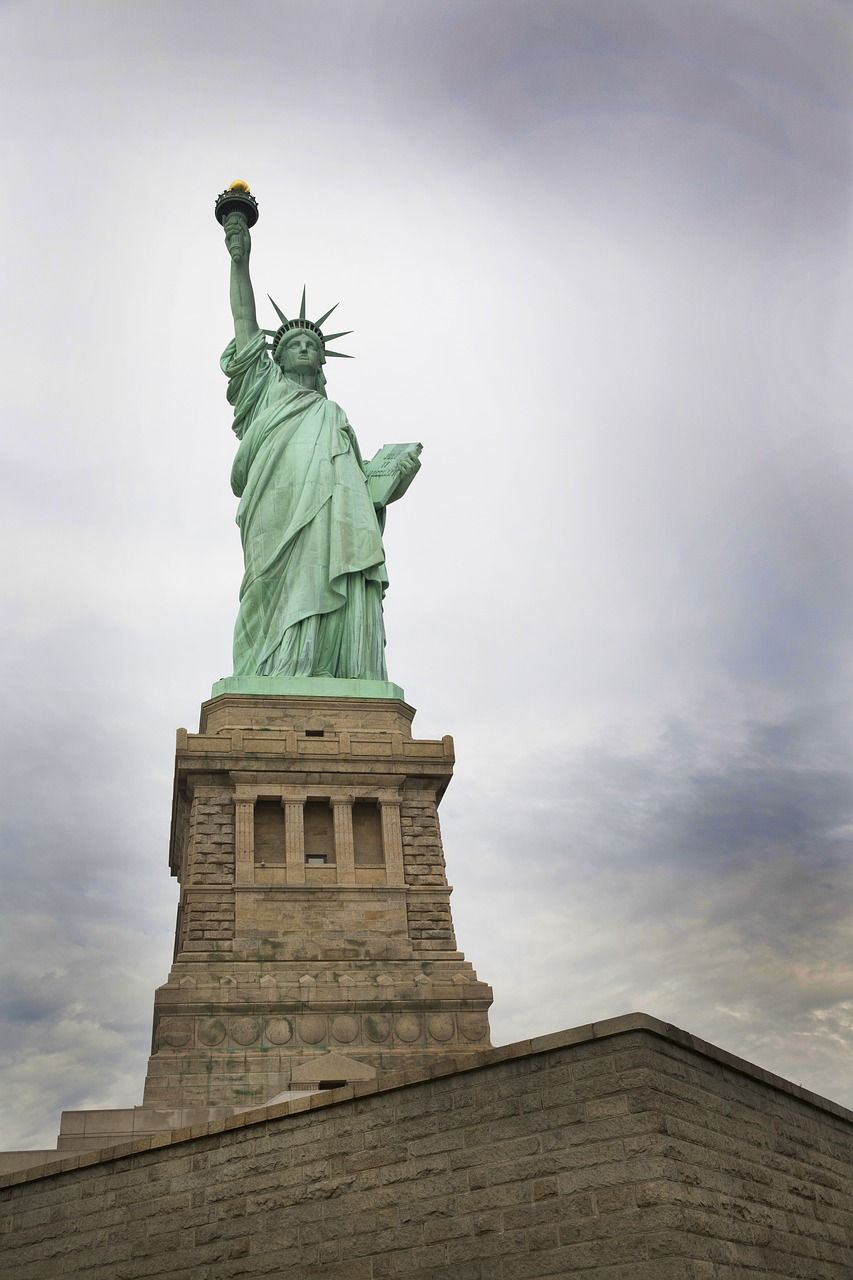 Island Lady Liberty Statue Of Liberty Freedom Island Ladyliberty Statueofliberty Freedom Statue Of Liberty Statue Visit New York