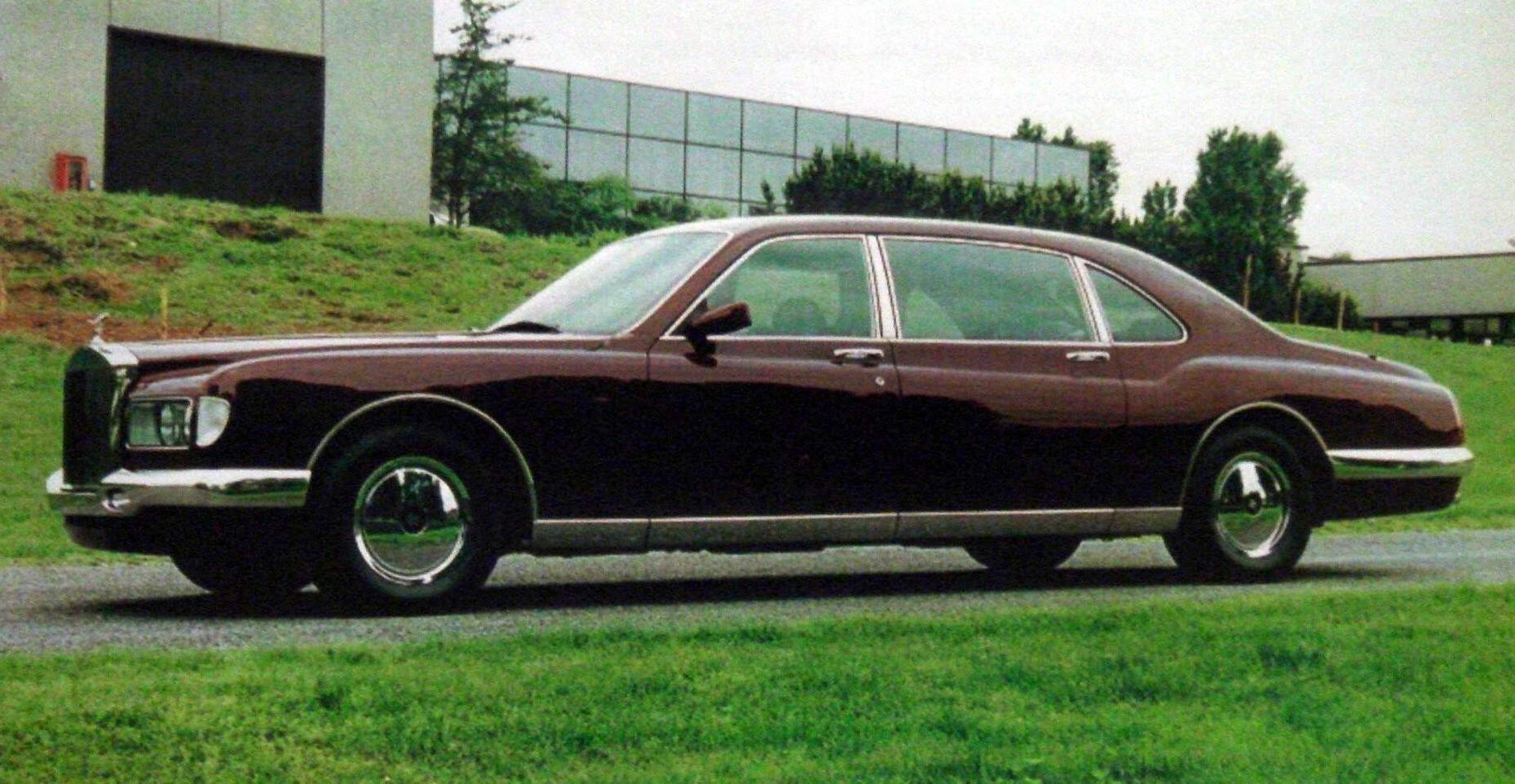 Rolls Royce Phantom Majestic Bertone 1995 World Of Cars