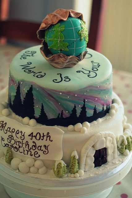 The World Is Your Oyster Most Amazing Birthday Cake Ever