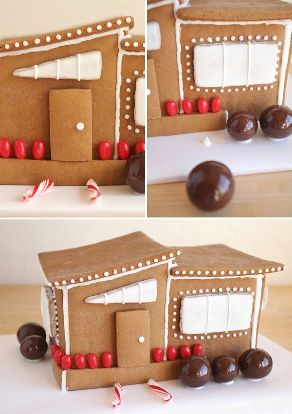 Modern Gingerbread House | Oh Happy Day | Christmas | Pinterest ...