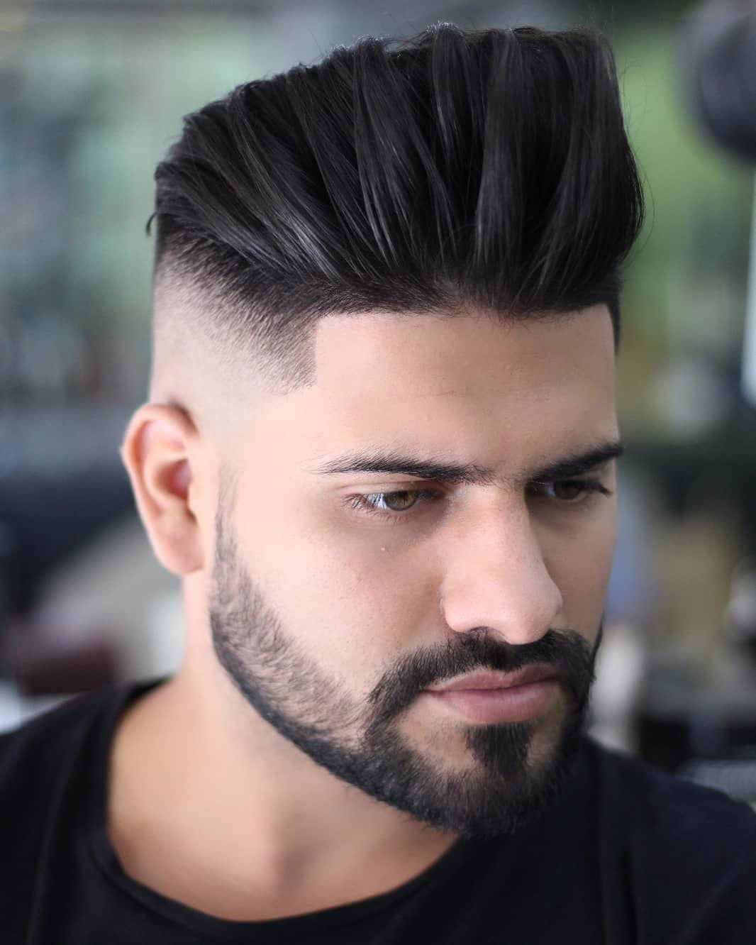 33+ Mens hairstyle with beard 2019 trends