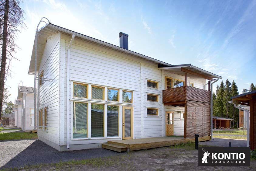 Construire une maison contemporaine en bois Kontio Construire