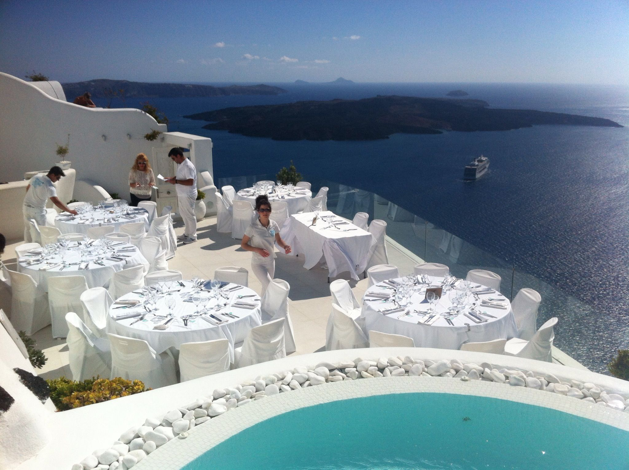 Greece Channel Santorini Dana Villas Http Www Romance Weddings In Pinterest Wedding And Private
