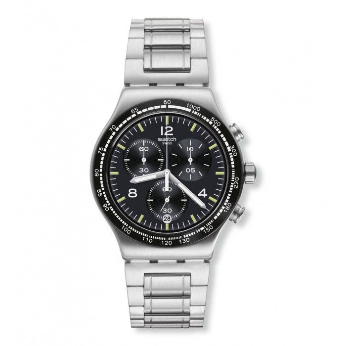 24271a3ccd2 Relógio Swatch Irony Chrono Night Flight - YVS444G