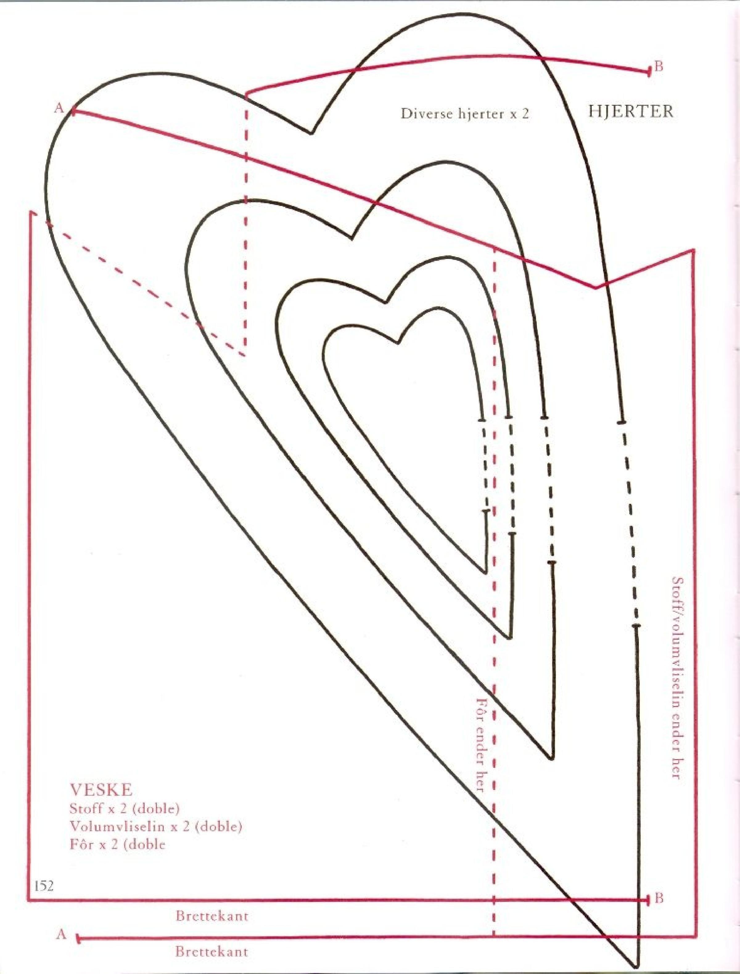 Vorlage Herzen Schablonen Vorlagen Herzschablone 7